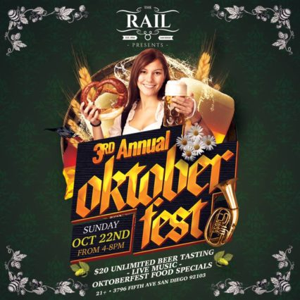 Oktoberfest 2017 @ Rail (The) - San Diego | San Diego | California | United States