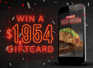 Jimboy's Tacos Mobile App Sweepstakes