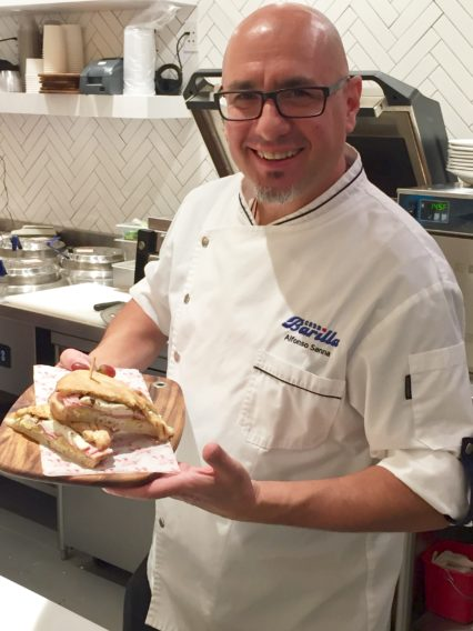 Casa Barilla Executive Chef Alfonso Sanna