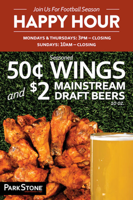 Football Season Wings & Beers @ ParkStone - Newport Beach