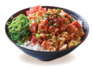 Lemonade Restaurant Group Spicy Ahi Tuna Poke Bowl