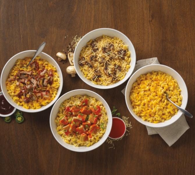 Noodles & Company Famous Macs Menu