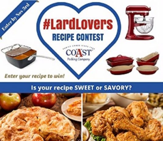 Coast Packing Co Lard Lover Recipe Contest