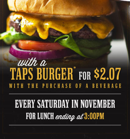 10th Anniversary Burgers @ TAPS Fish House & Brewery - Corona