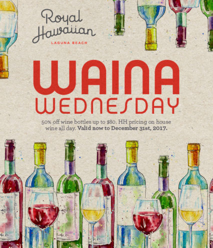 Waina Wednesday @ Royal Hawaiian (The) - Laguna Beach