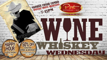 Wine & Whiskey Wednesday @ Port Restaurant / Bar - Corona del Mar | Newport Beach | California | United States