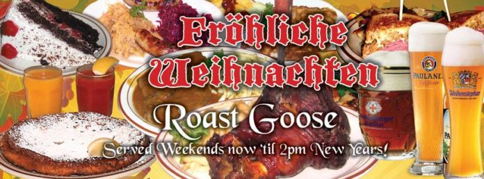 Jagerhaus Holiday Roast Goose