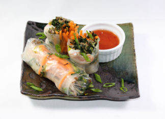 Tea Infused Spring Rolls