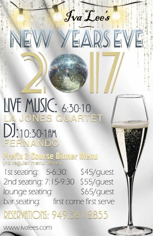 Iva Lee's New Year's Eve