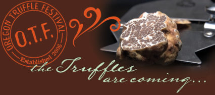 Announcing the  2018 Oregon Truffle Festival
