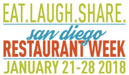 Eat, Laugh, Share! During San Diego Restaurant Week @ Various Locations