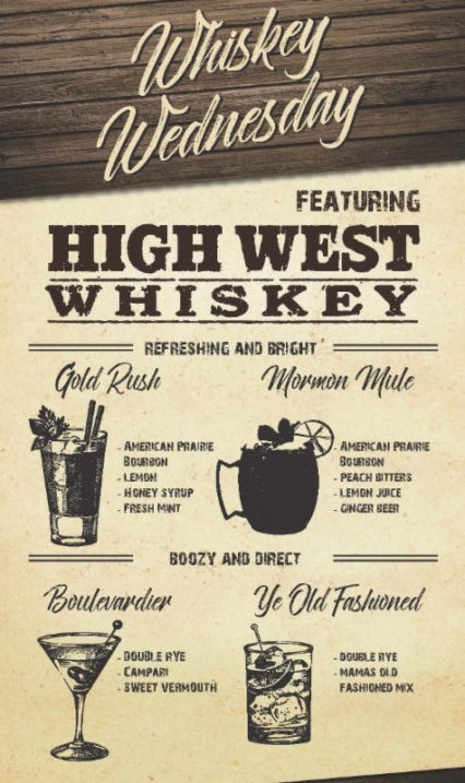 High West Whiskey Wednesday @ Mama's on 39 - Huntington Beach | Huntington Beach | California | United States