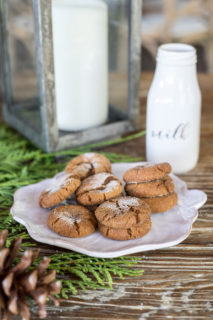 Spicy & Soft Molasses Cookies