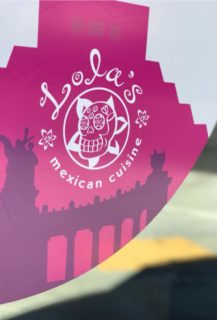 Lola's Mexican Pink Logo