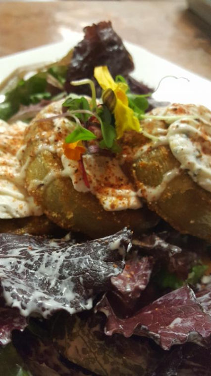 Iva Lee's Fried Green Tomato