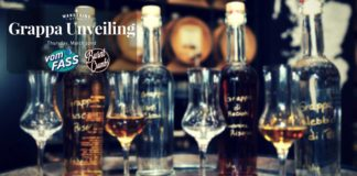 Vom FASS Grappa Unveiling