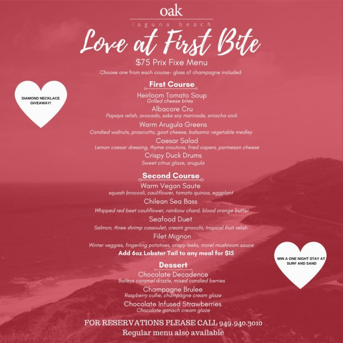 OAK Valentines Day Menu (1)