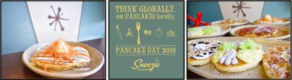 Snooze Pancake Day 2018