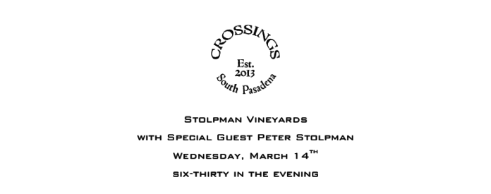 Crossings Wine Dinner