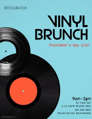 Vinyl Brunch @ Restauration - Long Beach