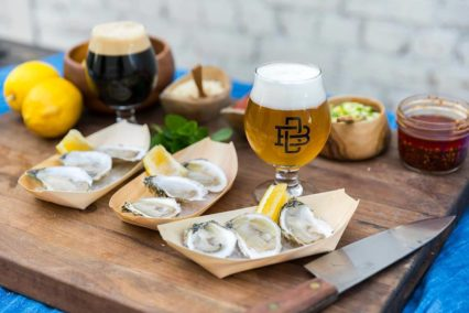Beer & Oyster Pairing @ Boomtown Brewery   Los Angeles   California   United States