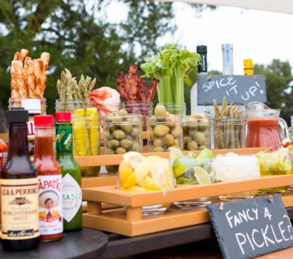 Bloody Mary Bar @ Coliseum Pool & Grill at Pelican Hill - Newport Beach