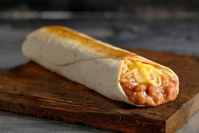 Jimboy's Bean And Cheese Burrito