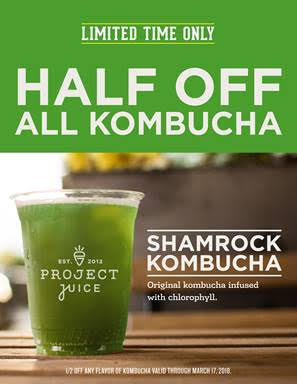 St. Paddy's Healthy Alternative @ Project Juice | Laguna Beach | California | United States