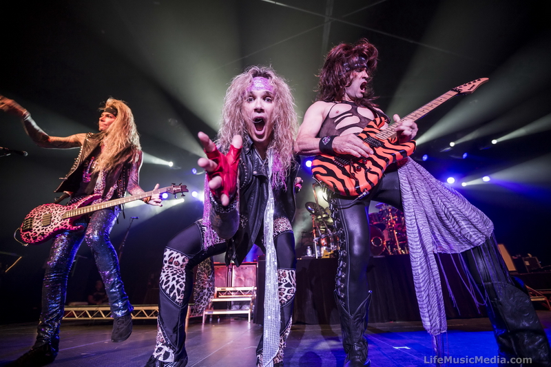 Steel Panther At Hordern Pavilion, Sydney