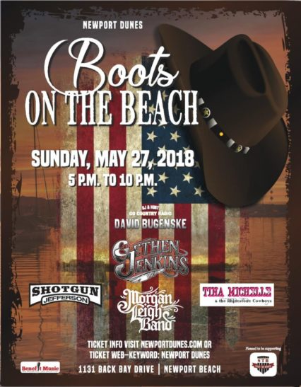 Boots on the Beach @ Back Bay Bistro (The) at Newport Dunes - Newport Beach