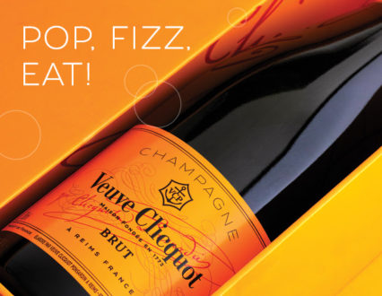 Raise a Toast with Veuve Clicquot!