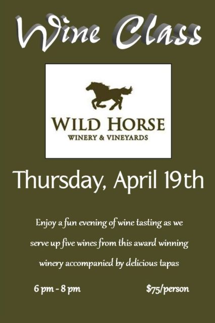 """Wild Horses"" Can't Keep You Away! @ Yves' Restaurant & Wine Bar 