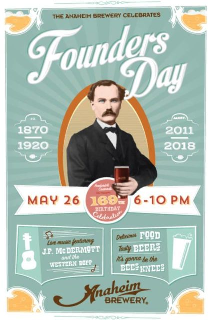 Founder's Day Celebration @ Anaheim Brewery - Anaheim | Anaheim | California | United States