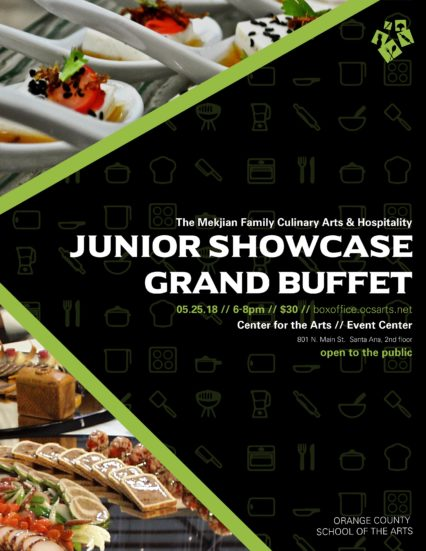 Junior Showcase Grand Buffet @ Center for the Arts Event Center - Santa Ana | Santa Ana | California | United States