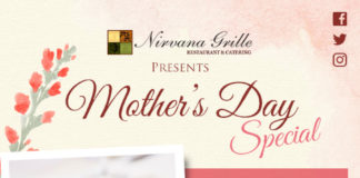 Nirvana Grill Mom Day