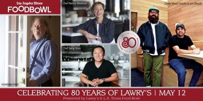 Lawry's 80th Anniversary