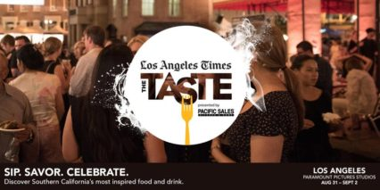 L.A. Times Hosts The Taste @ Paramount Pictures Studios Backlot | Los Angeles | California | United States