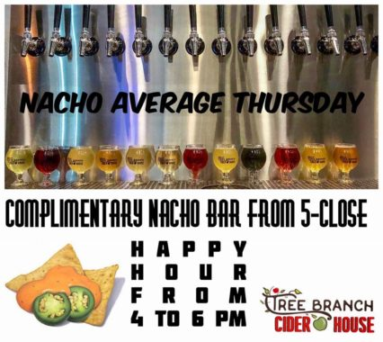 Nacho Average Thursday @ Tree Branch Cider House | Huntington Beach | California | United States