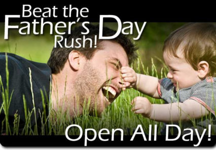 Open All Day for Father's Day @ Kobe Japanese Steakhouse & Lounge – Seal Beach