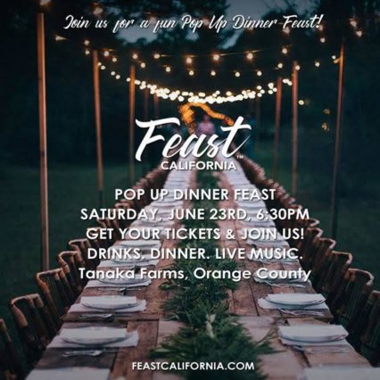 Pop-Up Dinner in the Strawberry Fields @ Tanaka Farms - Irvine | Irvine | California | United States