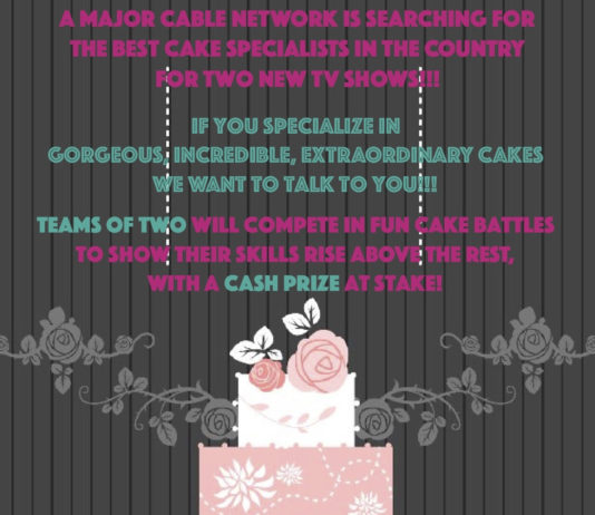 Cake Specialist Competition