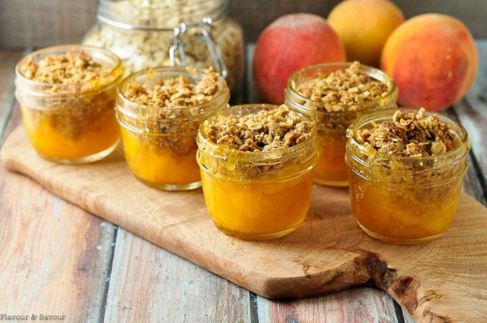 Chef Debbi's Peach Crisp