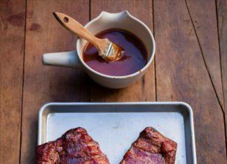 Spicy Bourbon Barbecue Ribs