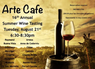 Arte Cafe 16th Wine Tasting