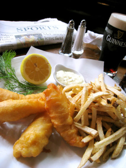 Fish & Chips Wednesdays @ Muldoon's Irish Pub - Newport Beach