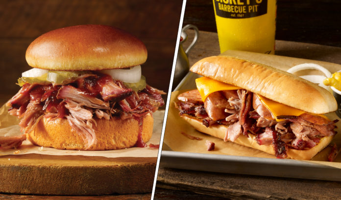 Dickey's Westerner And Pulled Pork
