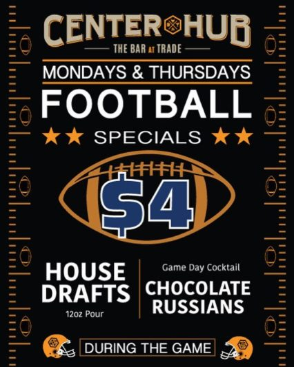 Football Fans $4 Beer Mondays @ Center Hub - Irvine | Irvine | California | United States