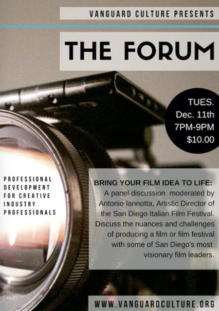 Bring Your Film Idea to Life @ IDEA1 | San Diego | California | United States