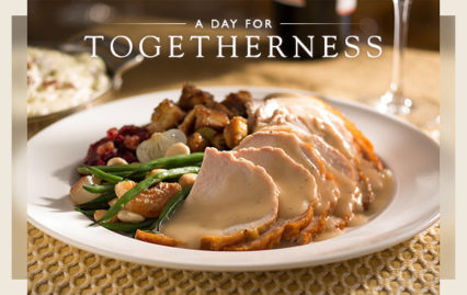 Give Thanks at Their Table @ Capital Grille (The) - Costa Mesa | Costa Mesa | California | United States