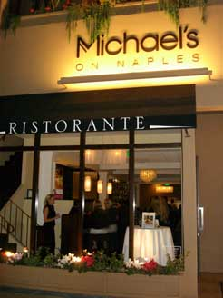 Wine Tasting and chef lesson @ Michael's on Naples Ristorante - Long Beach